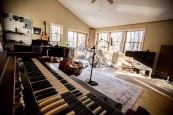 Hammond view of live room