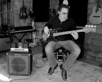 1964 Amp B15, 1974 P-bass.